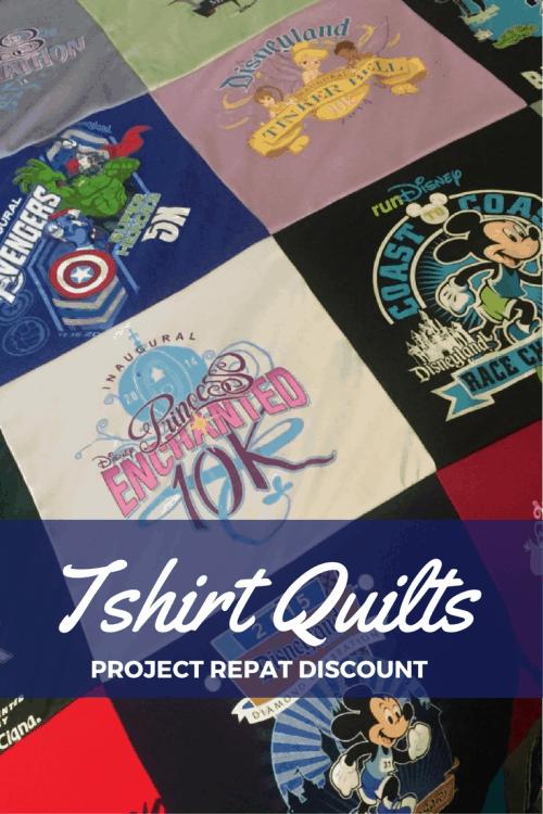 project repat tshirt quilt