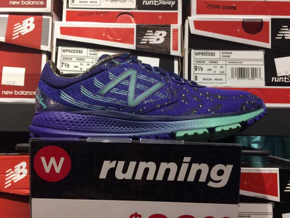 runDisney new balance shoes at New balance Outlets Haunted Mansion