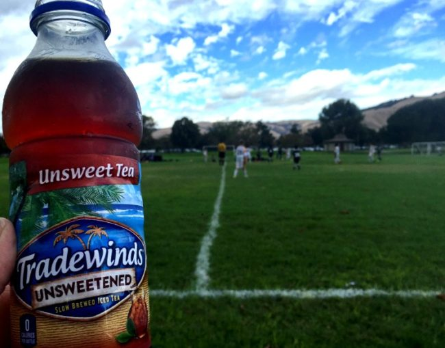 Fall break travels took us to California on a road trip. Soccer games were a highlight! The cooler was full of Tradewinds Tea, and we surely had #MomentsToSavor #ad