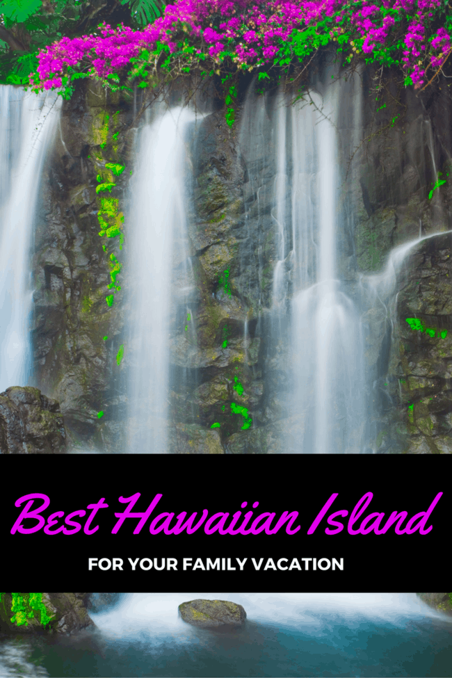 How to choose the right Hawaiian vacation for your family vacation: Headed to Hawaii and can't decide between Maui, Kauai, the Big Island, or O'ahu? How to make the right decision in paradise!