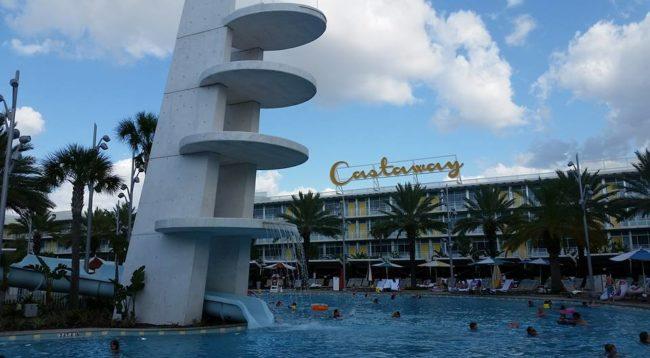 Cabana Bay Beach Resort Opening Day