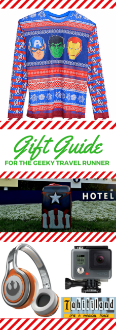 Runners, Travelers, Geeks. They can all be the same person! Check out a gift guide for this special type and see what they really want for Christmas this year. Holiday Gift Guide for the Geeky Traveler Runner | Marvel Gifts | Star Wars Gifts | Runner Gifts | Traveler Gifts