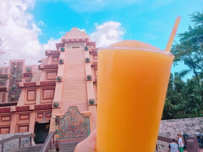 Drinking around the World at Epcot in Disney world