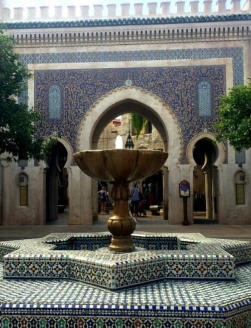 drinking around the world in epcot Morocco