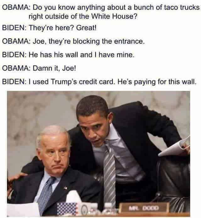 Funny Political Memes starring Joe Biden & Barack Obama- these are great!