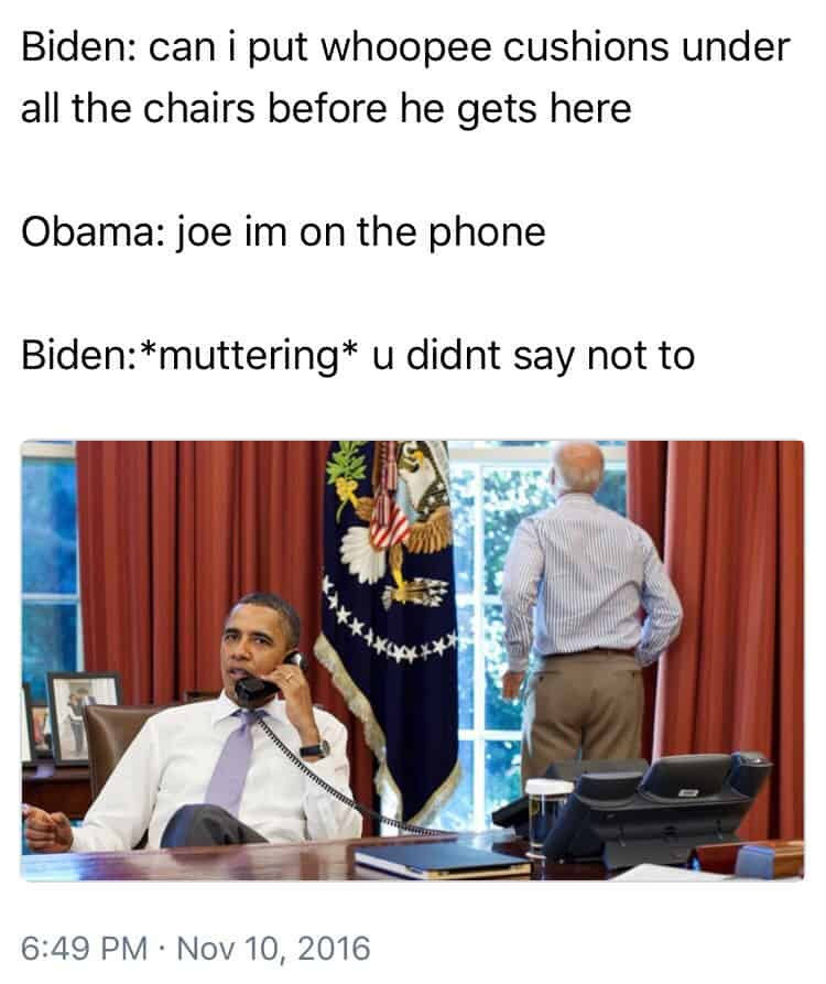 Barack Obama and joe biden memes