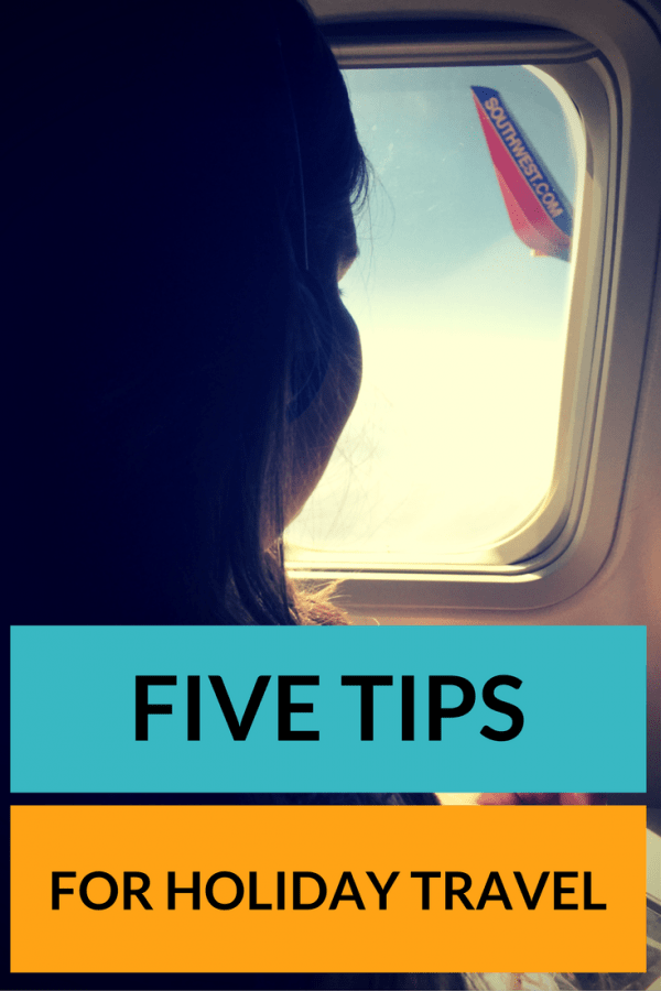 5 Tips for Holiday Travel with Kids. Planes, trains and automobiles can make everyone a little crazy! Here are ways to make your travel plans go a little smoother.