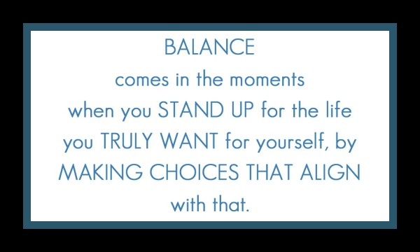 balance quote word of the year