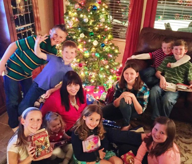 Christmas with all the kids at my parents house: winning!