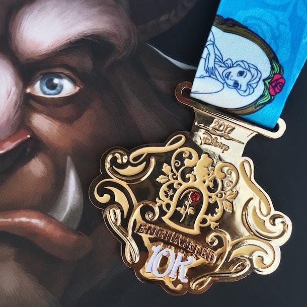 princess-half-marathon medals 10K