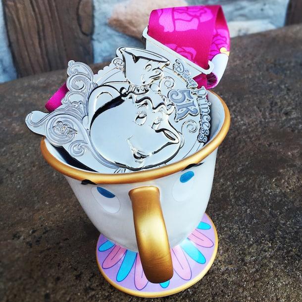 princess-half-marathon medals princess-5k-medal