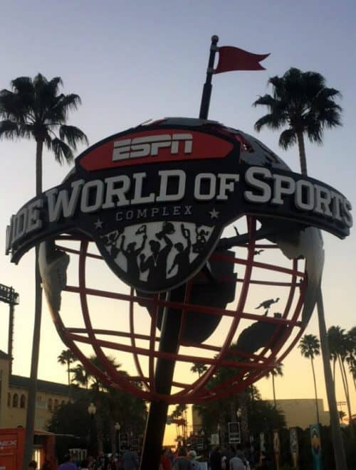 Disney World runDisney Expo at wide world of sports ESPN Globe