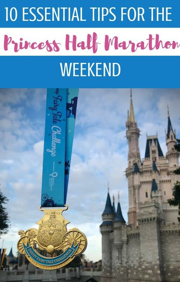 Know before you go: these 10 Essential Tips For the Princess Half Marathon will ensure the first time runDisney participant has the knowledge they need to have a royally good time at the races. Running at Disney World is a very different experience- magical and all that; as long as you know what you're in for!