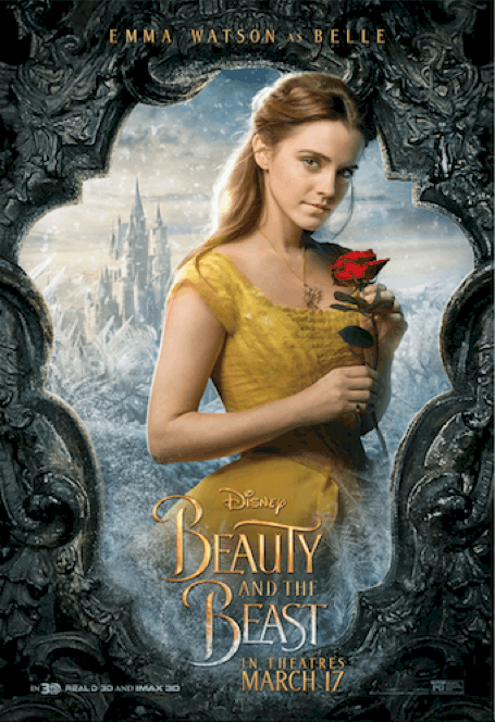 Beauty and the Beast Emma Watson Poster