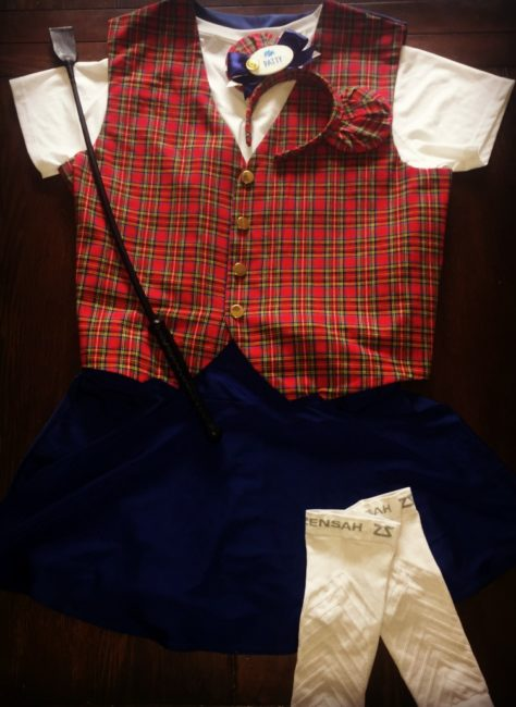 Walt Disney World VIP Tour Guide running costumes for the Princess Half Marathon weekend. Disneyland | mickey ears | Plaids