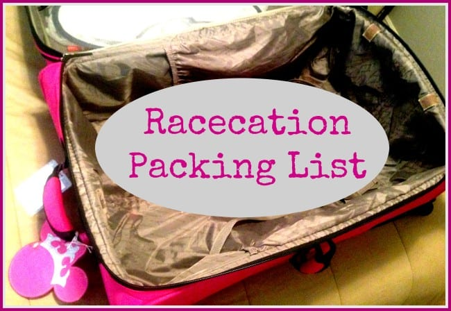 Princess Half Marathon Packing List