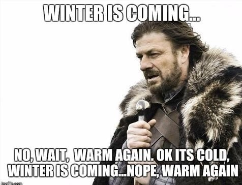 Winter Monday Memes