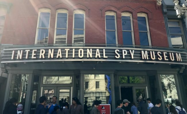 International Spy Museum Spring Break in Washington DC