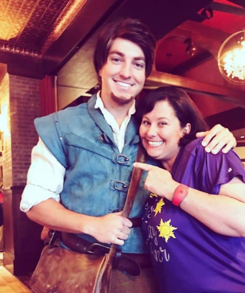 Bon Voyage Breakfast characters meet and greet at Trattoria al Forno Flynn Ryder