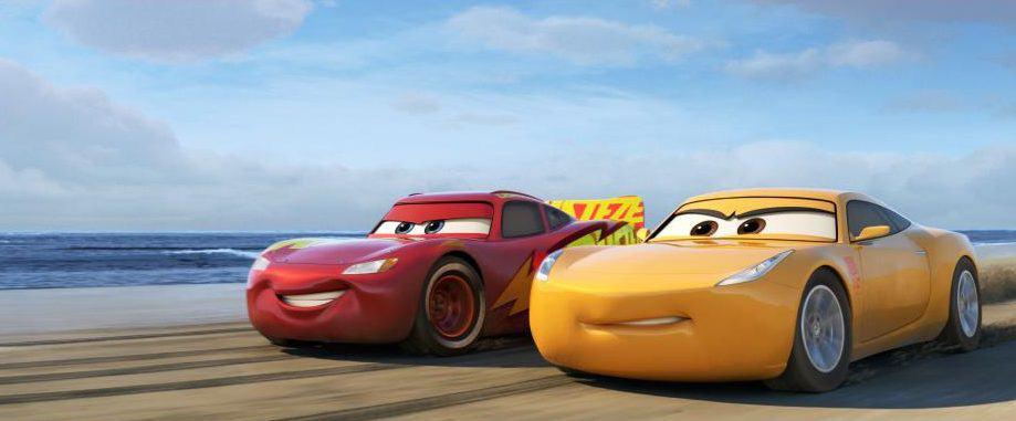 Cars 3 bonus features on bluray