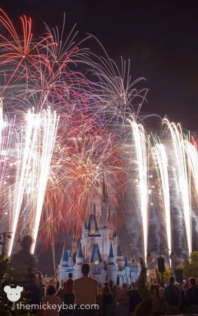 Saying goodbye to Wishes at Disney World
