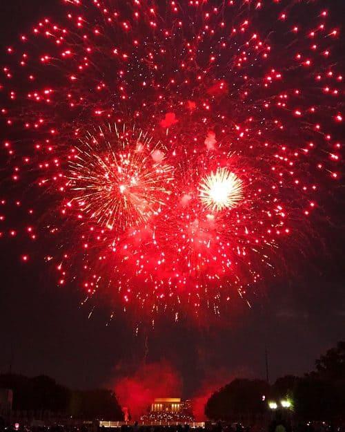Washington DC 4th of July fireworks