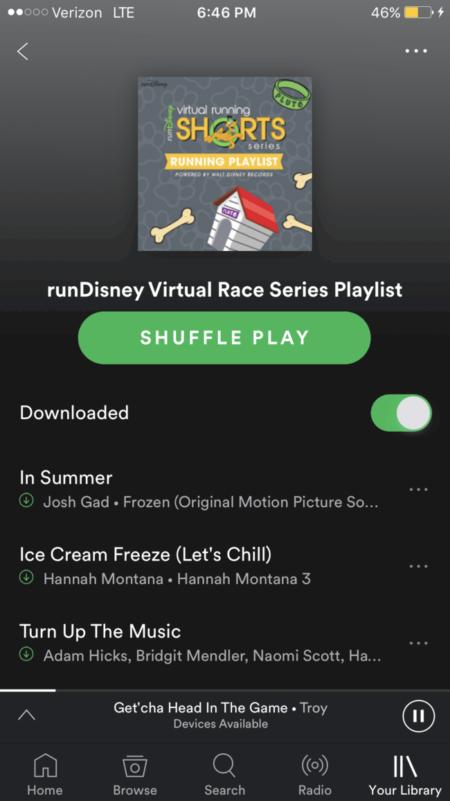 Here's how you can grab the (not-so) secret runDisney playlist on Spotify for your next run. If you are running the virtual race series, this one is for you! Running Music | Disney Music | Spotify