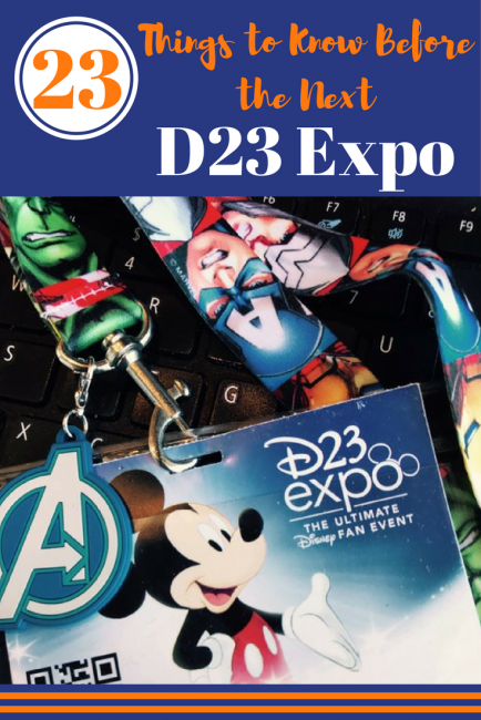 Tips for the D23 Expo that you need to know before the next event happens! Disney's fan club, D23, puts on an expo every 2 years in Anaheim. It's Comic Con for Disney!