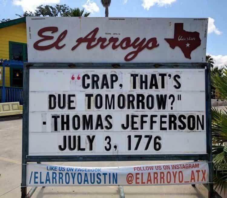 Funny 4th of July memes - I love this fourth of July meme sign!