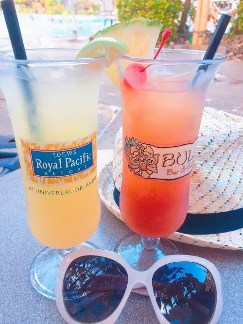 Margaritas at the Royal Pacific Universal Orlando Resort