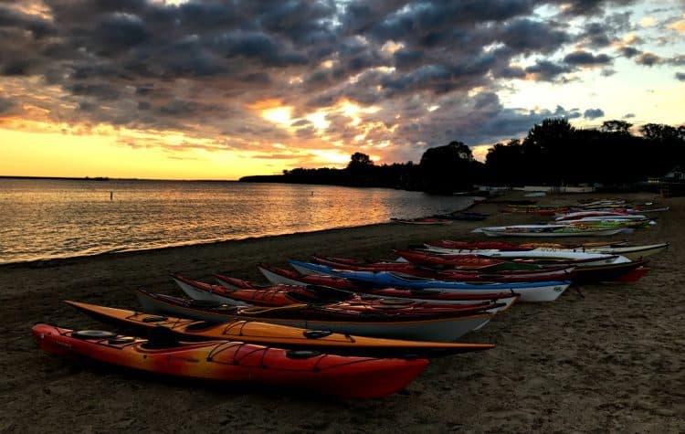 Lake Austin Kayaks Pure Michigan Sunrise Coast