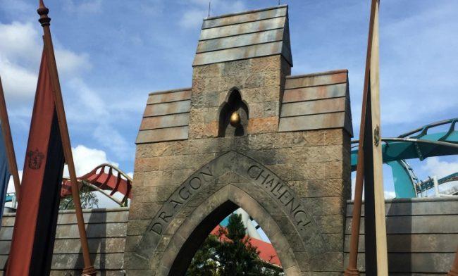 Dragon Coaster makes way for new Harry Potter coaster at Universal Orlando