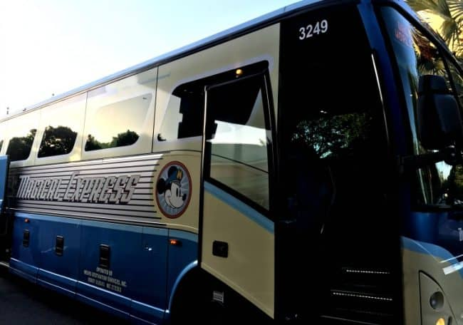 disneys magical express bus for rundisney race weekends