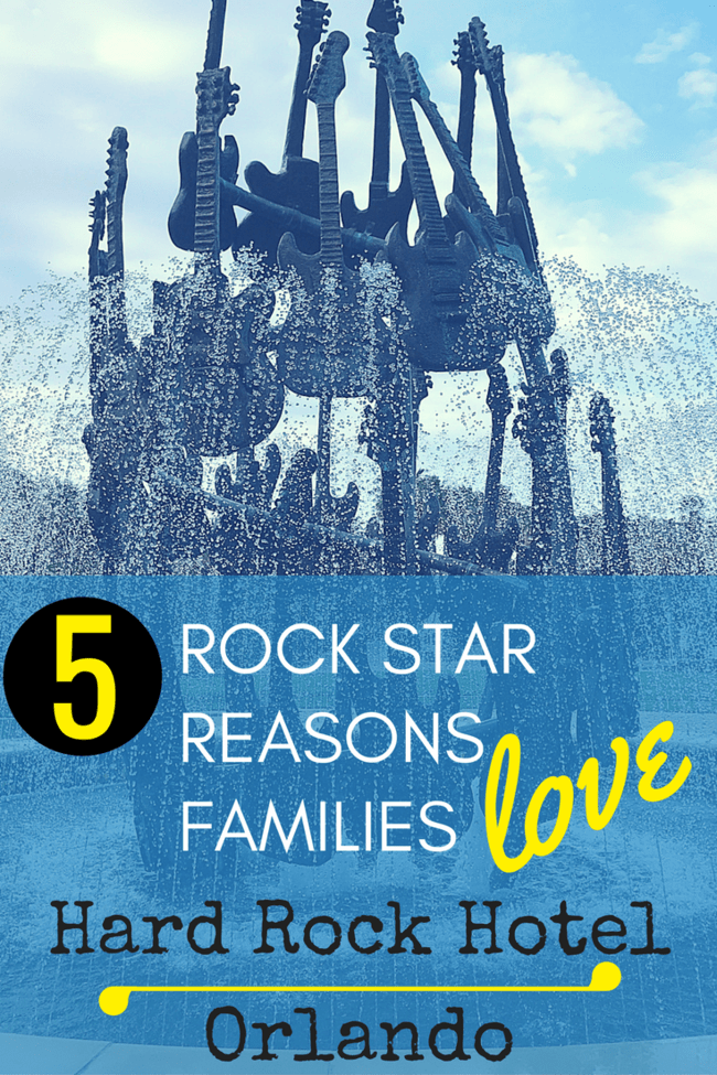5 things to love about the Hard Rock Hotel Universal Orlando. Best place to stay at Universal Orlando!