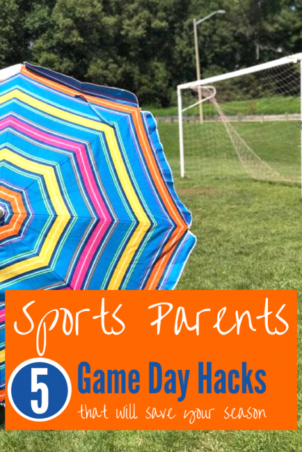 Game Day Parent's Survival List: the top hacks for new sports parents (soccer, football, baseball) to get you through the sports season.