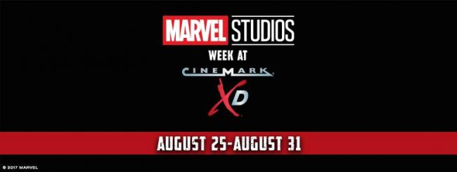 Marvel Movie Week With Cinemark