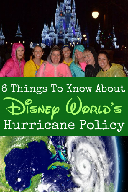 The Weather in Disney World: Walt Disney World hurricane policy: what you need to know if your travel and family vacation is in the way of a category 5 storm.