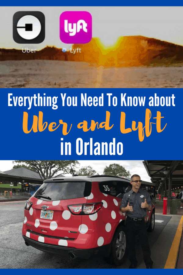 How to Uber in Orlando: rideshare services like Lyft and Uber can get you around Disney and Universal with ease!