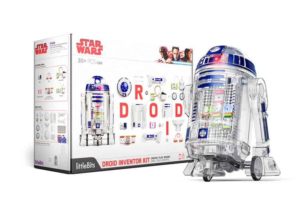 Get your kids into STEM at home with a little help from Star Wars! STEAM at Home With littleBits R2D2