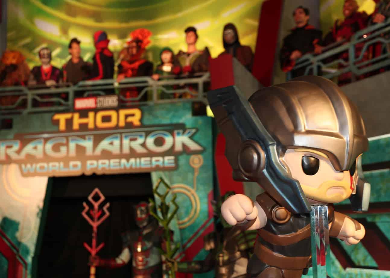 Thor: Ragnarok Red Carpet Premiere Experience   #ThorRagnarokEvent