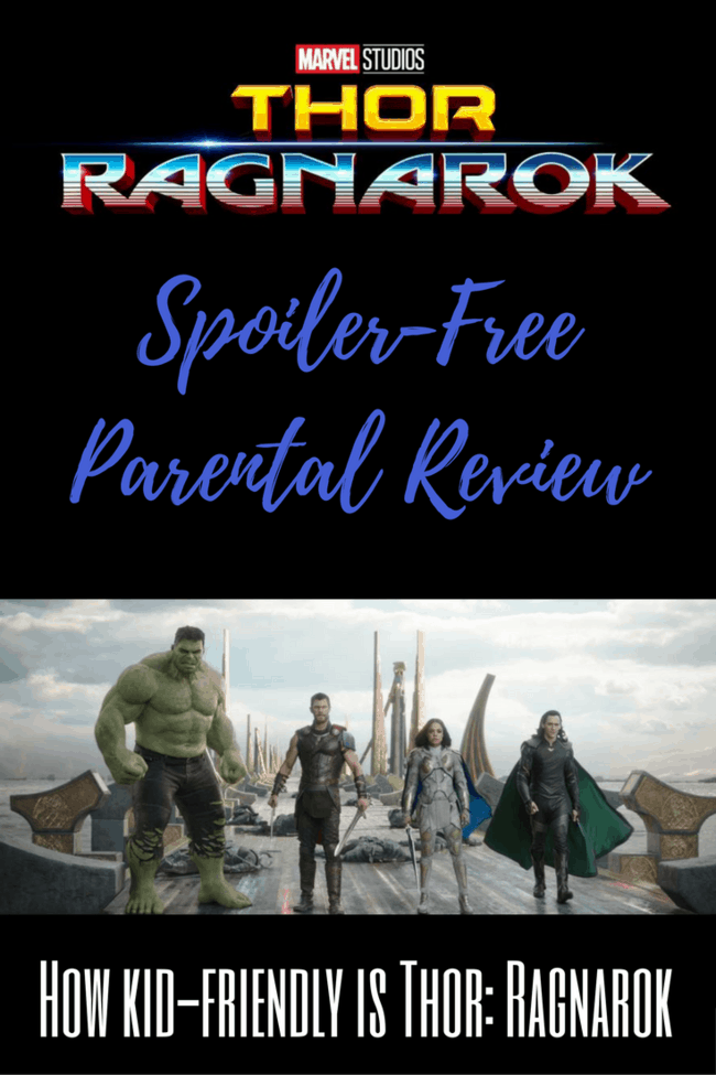 Is Thor: Ragnarok ok for kids? Thor: Ragnarok Review spoiler free parental review