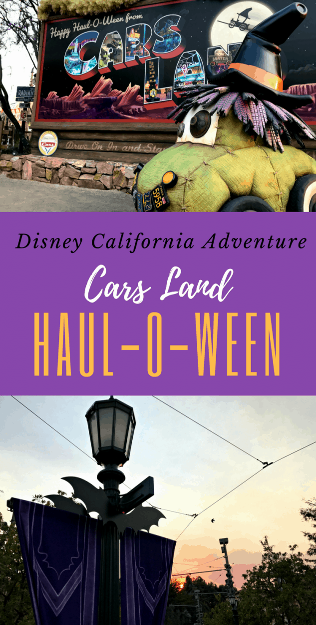 Haul-O-Ween at Disneyland and Disney California Adventure is spooky fun! Cars Land tips for people looking to spend October at the park.