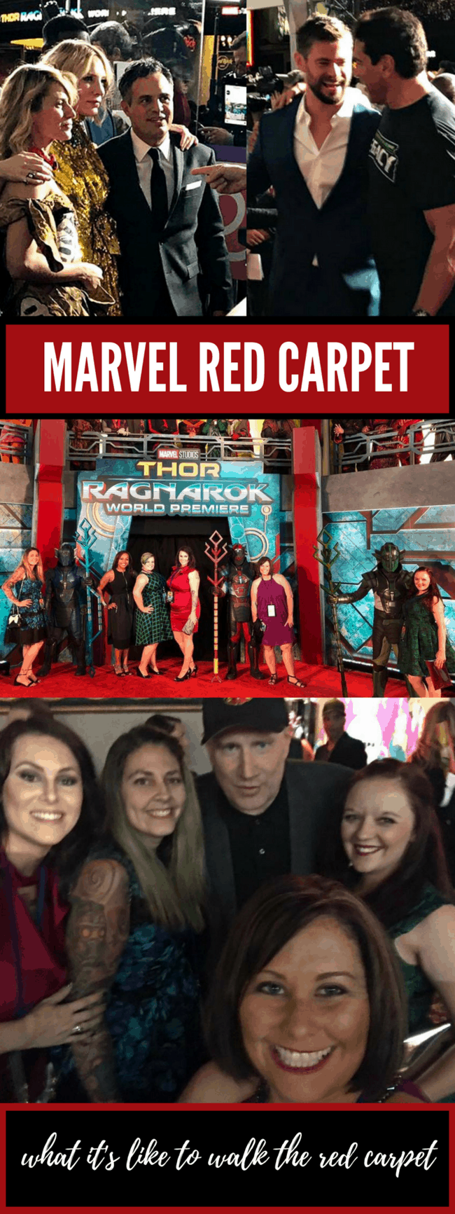 How to walk the red carpet at a Marvel premiere! Thor: Ragnarok Red Carpet Premiere Experience: what happens when a Hollywood newbie finds herself on the Marvel red carpet!