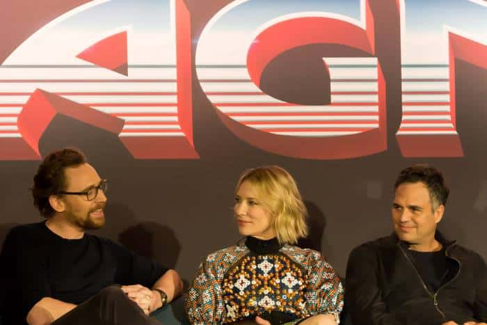Los Angeles THOR RAGNAROK press conference recap and experience.