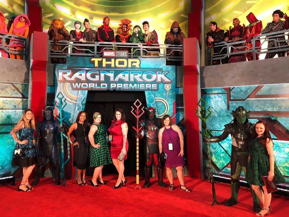 Thor: Ragnarok Red Carpet Premiere Experience: what happens when a Hollywood newbie finds herself on the Marvel red carpet!