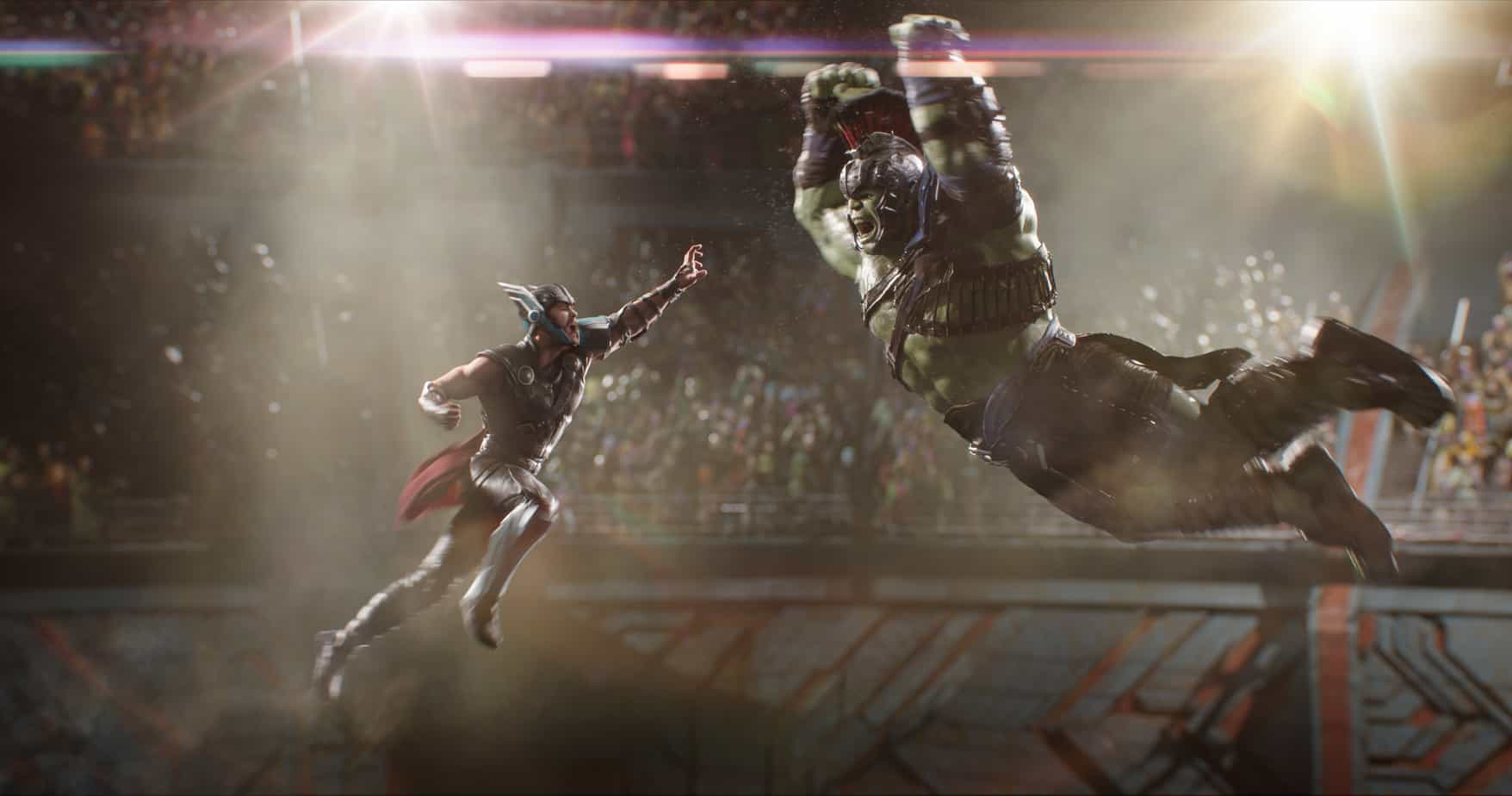 Exclusive THOR: RAGNAROK Interview with Kevin Feige, President of Marvel Studios at the Thor: Ragnarok Event. Dishes on his favorite Avenger and future of The Hulk.