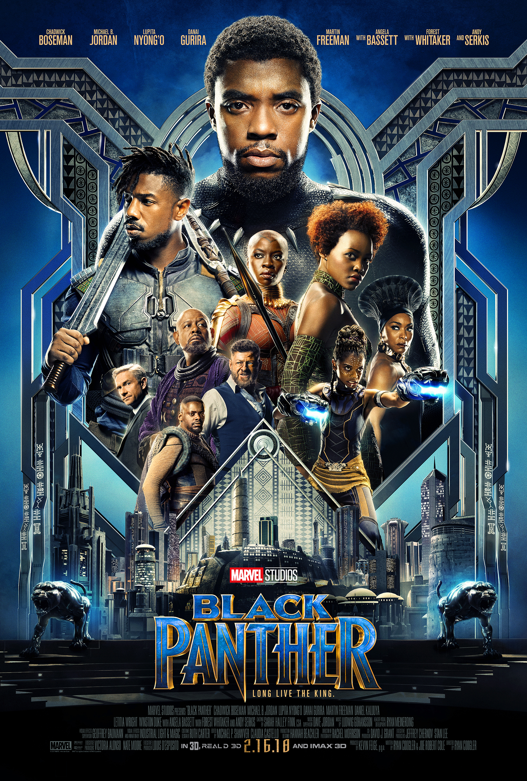 Black Panther Trailer and Poster released October 2017! New Marvel coming to the screen in February 2018