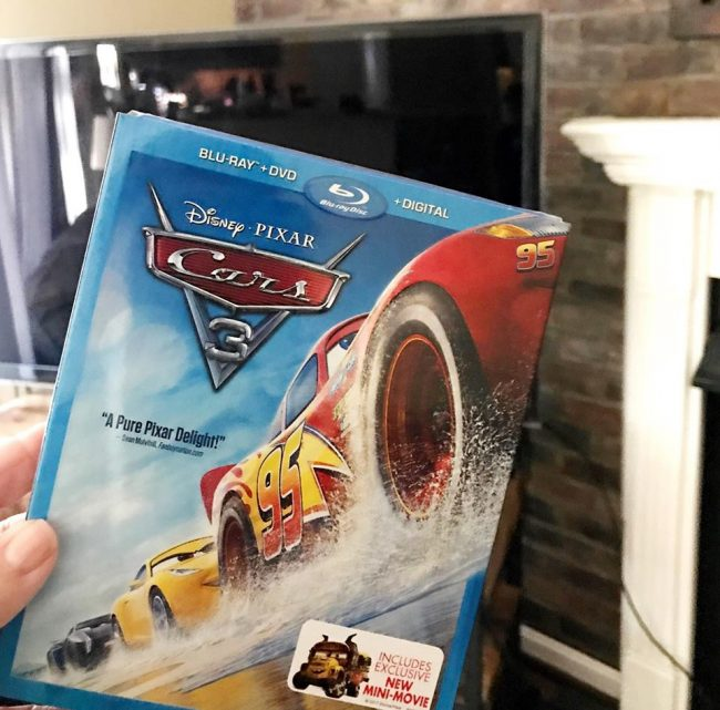 cars 3 bonus features on blu ray review cars3bluray my no guilt life my no guilt life. Black Bedroom Furniture Sets. Home Design Ideas