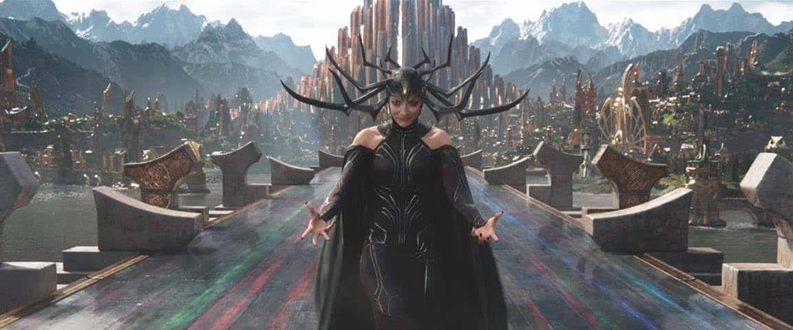 Hela, Thor: Ragnarok villain and Marvel's first female villain