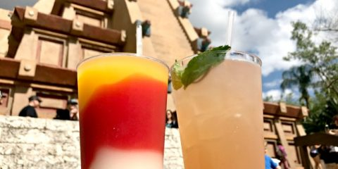 drinking around the world in epcot Margaritas in Mexico